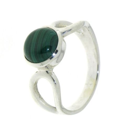 Malachite Ring model R9-030
