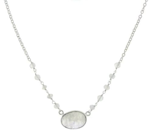 Rainbow Moonstone Chain model N5-005-0004