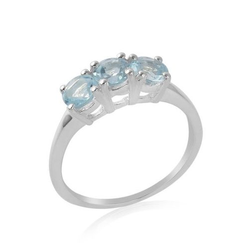 Blue Topaz Ring model R7-016