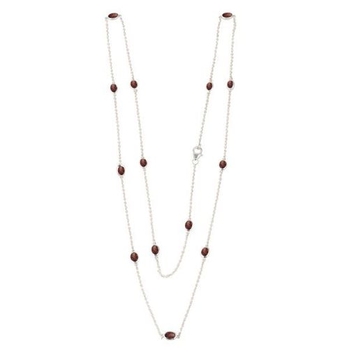 Garnet Necklace model N7-010