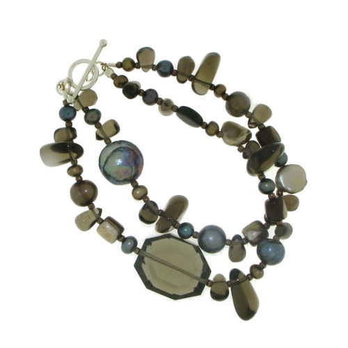 Smoky Quartz Bracelet model B8-020