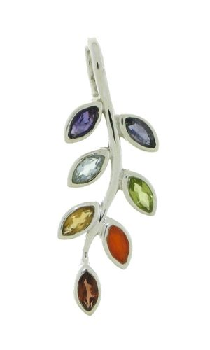 Multiple stones symbol pendant model P9-006