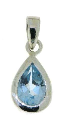 Blue Topaz Pendant model P9-104