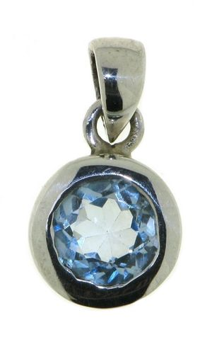Blue Topaz Pendant model P9-106