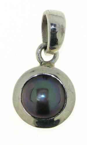 Gray Pearl Pendant model P9-106