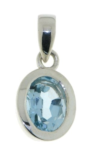 Blue Topaz Pendant model P9-130