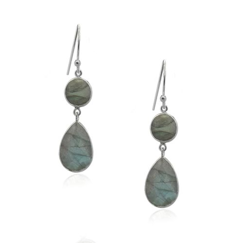 Labradorite Hanging earring model E5-019-0003