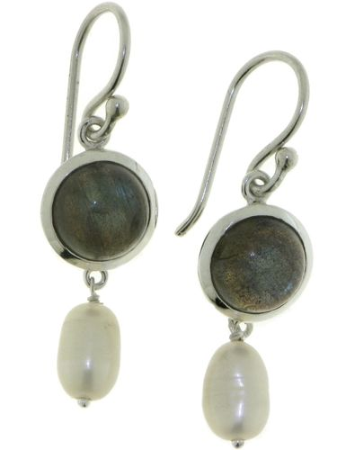 Labradorite Hanging earring model E6-009