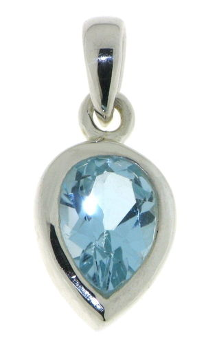 Blue Topaz Pendant model P9-138