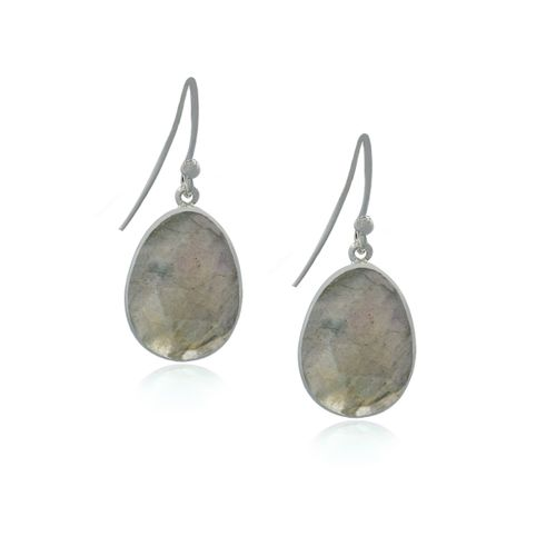Labradorite Hanging earring model E5-031