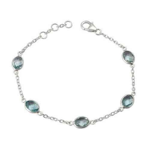 Blue Topaz Bracelet model B7-008