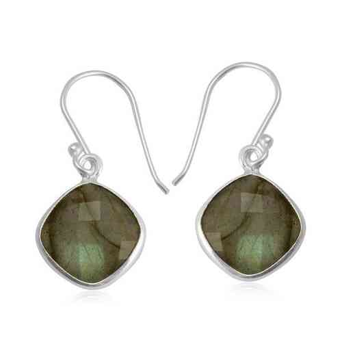 Labradorite Hanging earring model E7-006