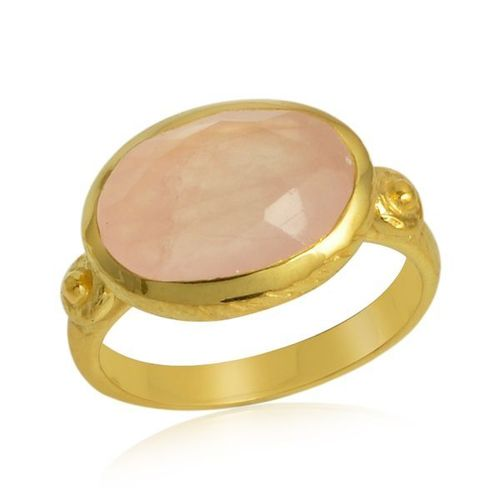 Rose Quartz Ring model R5-044