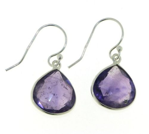Amethyst Hanging Earring model E5-023