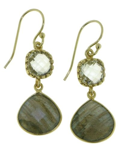 Labradorite Hanging earring model E5g-038