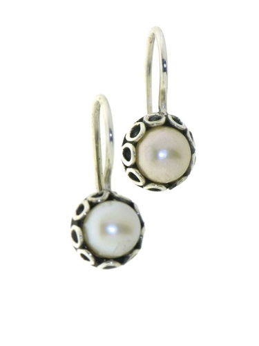 Pearl Hanging earring model E6-002