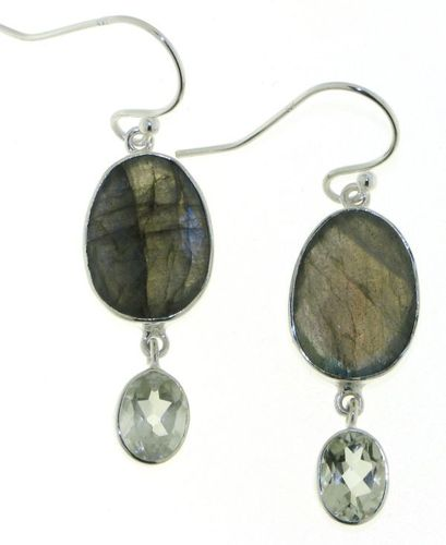 Labradorite Hanging earring model E5-063