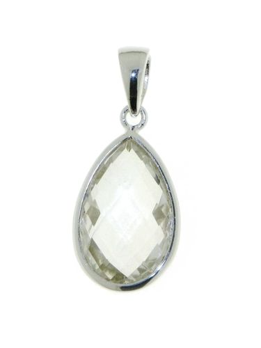Rock Crystal Pendant model P6-020