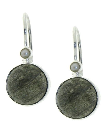 Labradorite Hanging earring model E6-014