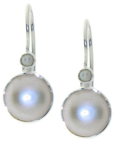 Pearl Hanging earring model E6-014