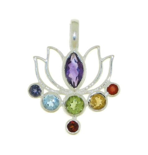 Multiple stones Symbol pendant model P6-036