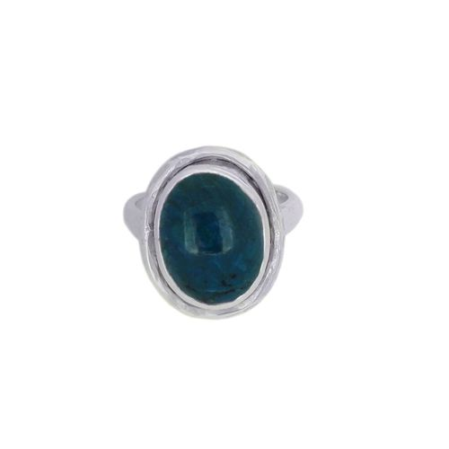 Chrysocolla Ring model R6-019